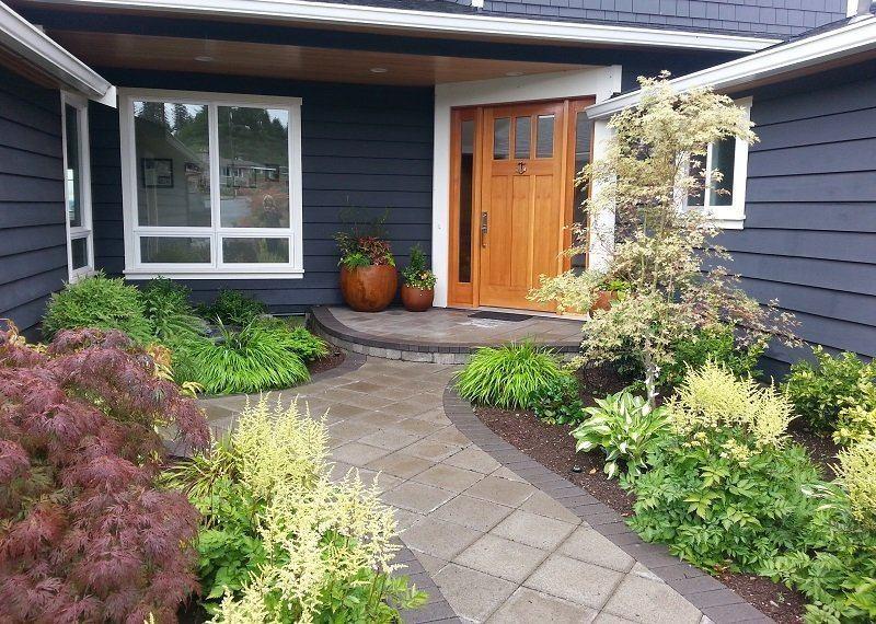 Палисадник перед домом своими руками: как сделать и украсить