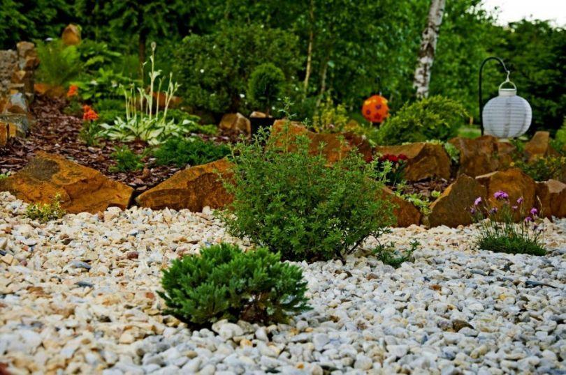 Каменистый садик своими руками