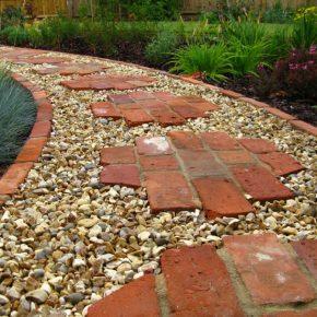 Садовые дорожки своими руками — правила строительства, выбор материала. Разновидности садовых дорожек для загородного участка. 80 вдохновляющих фото