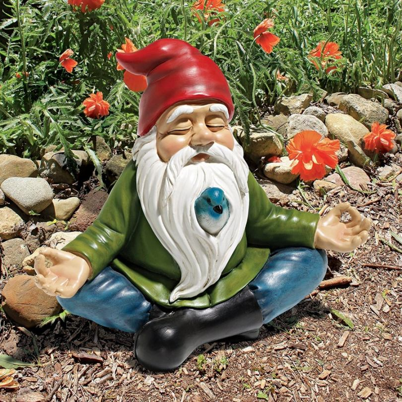 Гномик для сада своими руками мастер класс