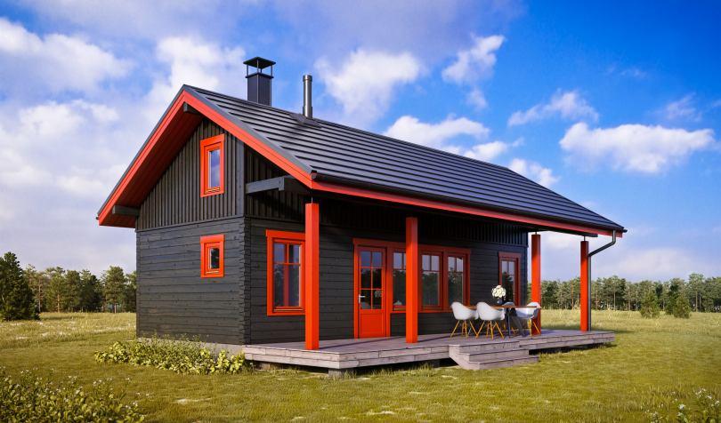 финские дачные домики фото горько