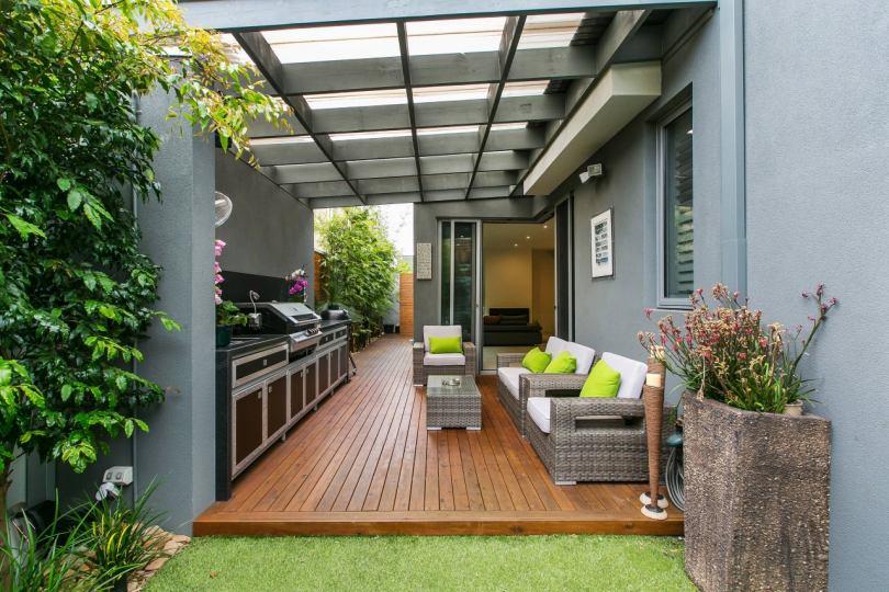 Пристроить открытую террасу к дому варианты