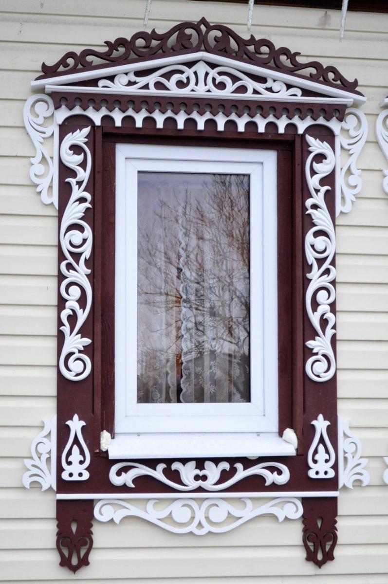 узоры на окна из дерева