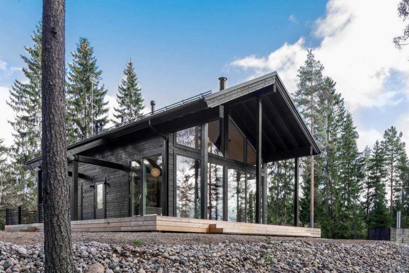 Современные финские дома - особенности, достоинства и практичность современного деревянного дома